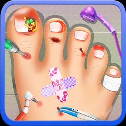 Nail doctor : Kids games toe surgery doctor games