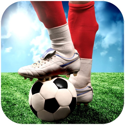 Play Football Real Soccer - Best free kick game icon