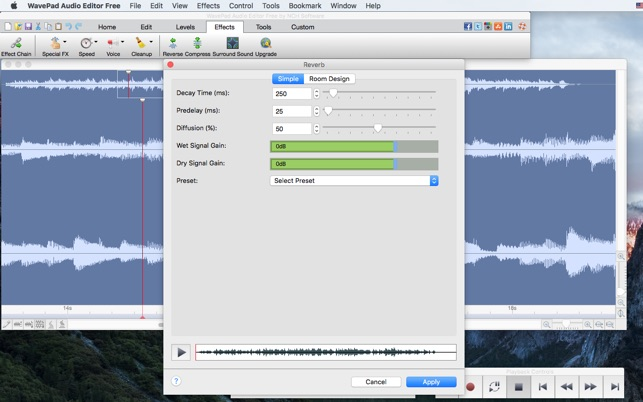 avs audio editor mac free download