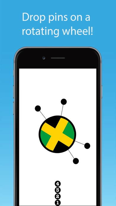 Pins & Needles - Fun Spinning Puzzle Game screenshot two