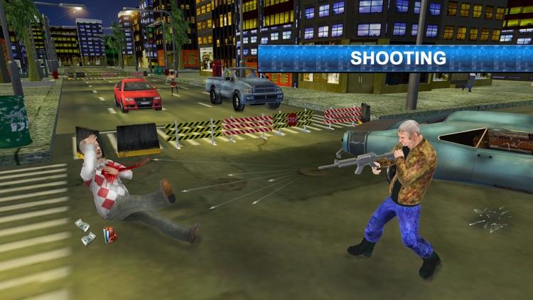 Crime fighter crazy grandpa 2 : Terrorist crime screenshot-4