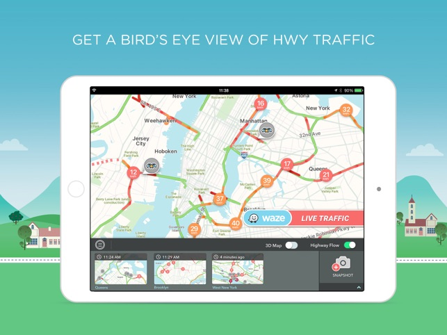 Nyc Live Traffic Map.W On Air On The App Store