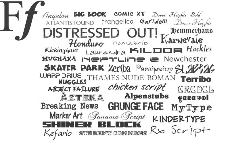comic book font free mac