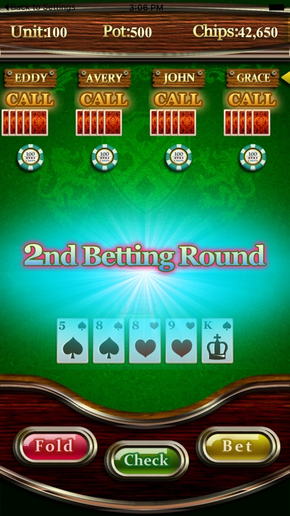 5 Card Draw Poker For Mobile By Edaha Co Ltd