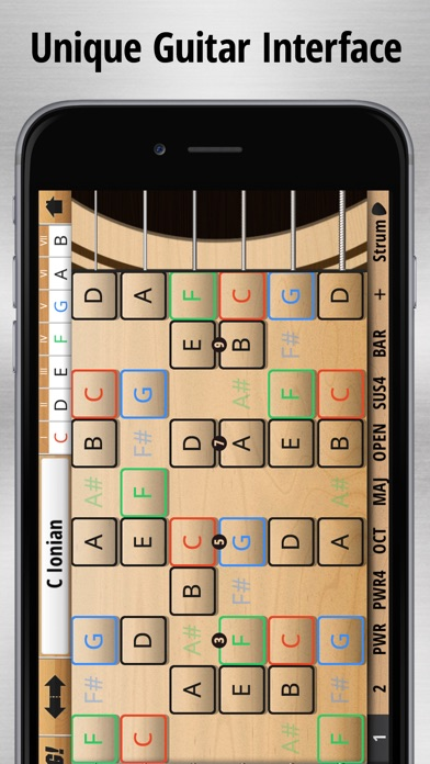 Jam Maestro: create guitar tab screenshot 3