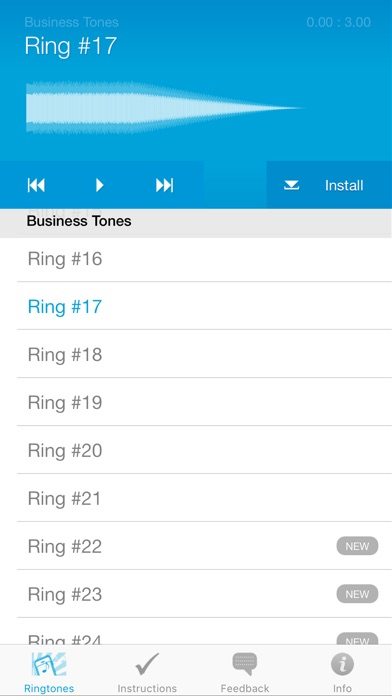 Ringtones For Iphone (full Version) review screenshots