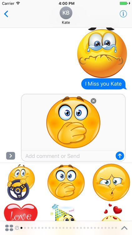 Yellow Smiley - 200+ emoji, sticker for iMessage