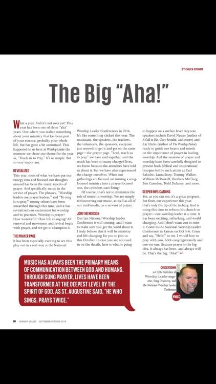 Worship Leader Magazine screenshot-4