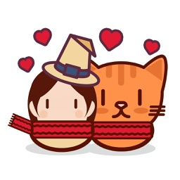 Neko Witch Stickers