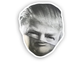 Based on the legendary Trump Folds, give these stickers a sticky wick or two