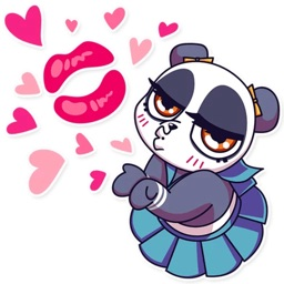 Panda Chan Sticker Pack for iMessage