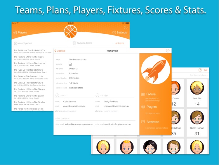 Great Coach Basketball - Planning and Scoring screenshot-3