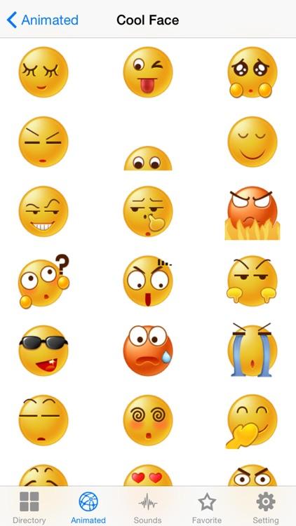 New Emojis & Smileys animated text icons emoticons screenshot-3