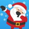 Dabbing Santa Photo Editor with Christmas Stickers
