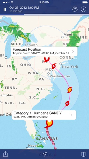Noaa radar pro weather alerts on the app store sciox Image collections