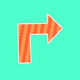 Arrow Stickers - iMessage Sticker Pack