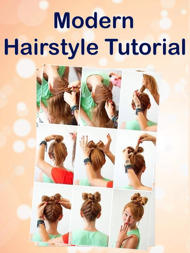 Hairstyles For Girls Step By Step Catalogue On The App Store