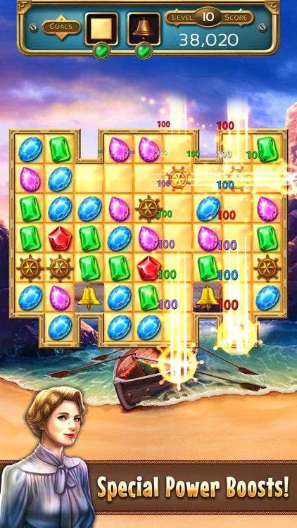 Jewel Quest 7 Seas: Match 3 Games