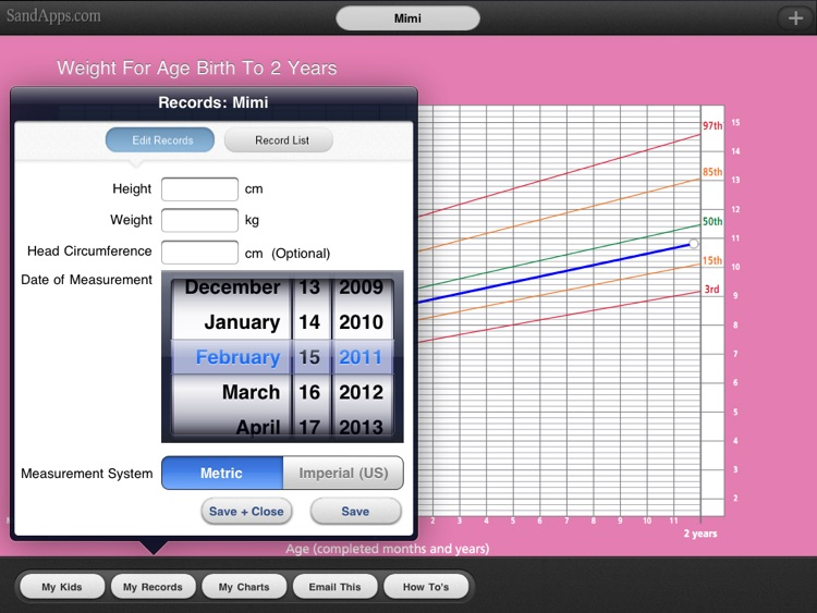 WHO Growth Charts for Babies, Infants screenshot-4