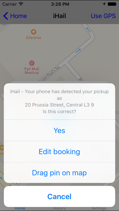 Delta Taxis screenshot two