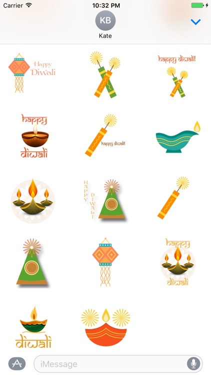 Diwali Greetings Sticker Pack