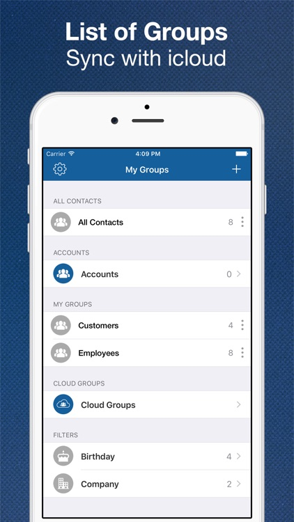 My Groups - Contact Manager, Group Text & Mail