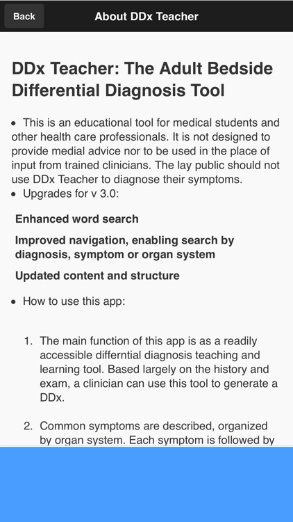 DDx Teacher: Differential Diagnosis/History Aid screenshot-4