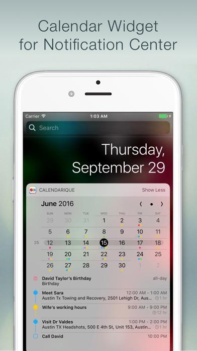 Calendarique screenshot1