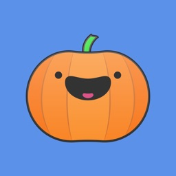 Pumpkin Sticker Pack • Cute Flat Halloween Emoji