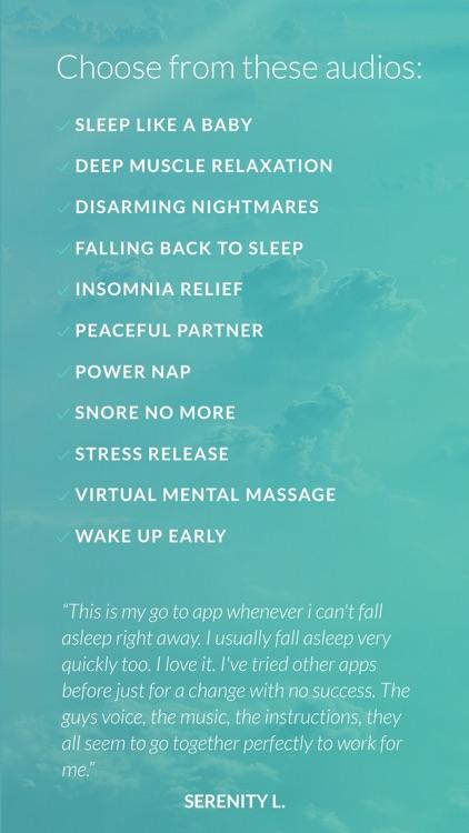 Deep Sleep and Relaxation Hypnosis- Cure Insomnia screenshot-4