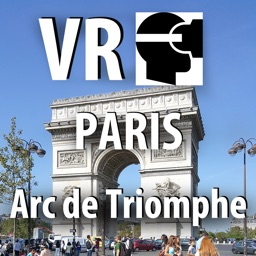 VR Paris Arc de Triomphe Virtual Reality 360