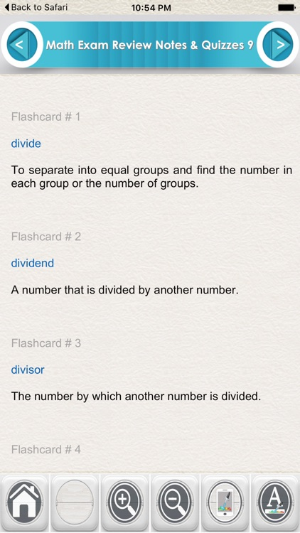 Math Exam Review for self Learning 1600 Flashcards by ...