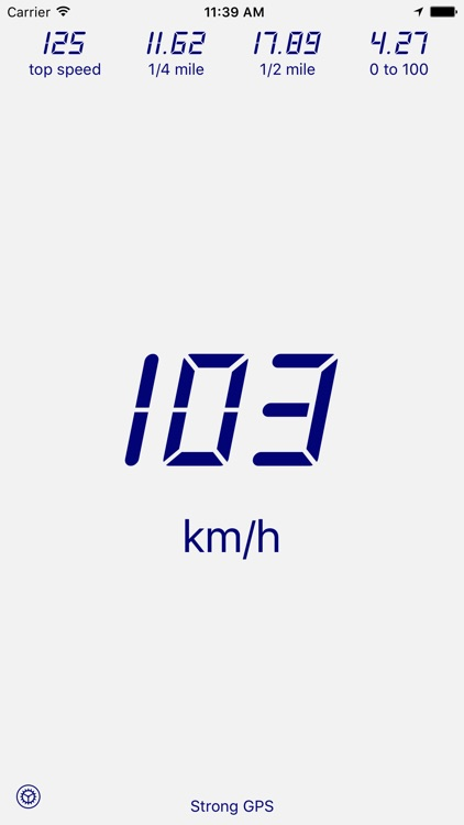 Velocimeter - Speedometer App screenshot-1