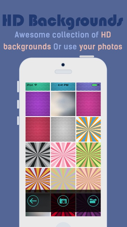 iMonogram - Create your own custom wallpapers and backgrounds screenshot-3