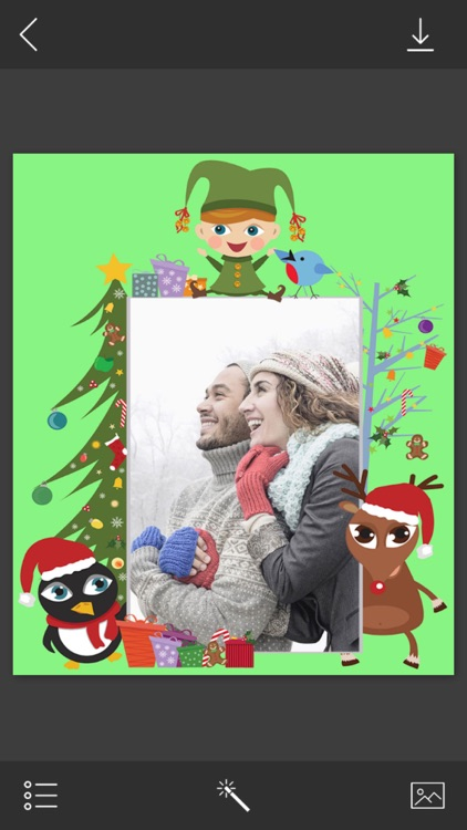 Winter Picture Frame - insta frames for photo