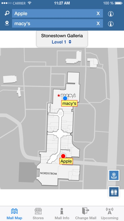 Mall Maps by IntelliGroups Mall Map App on real estate app, employment app, mall maps windows phone 8,