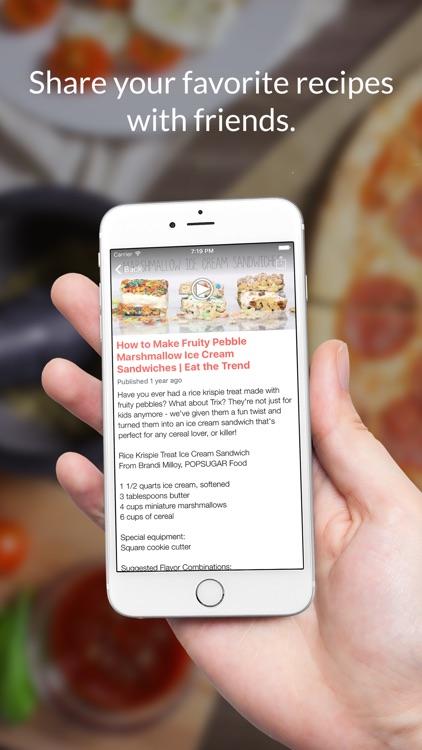 Tea party Recipes: Food recipes & cookbook screenshot-3