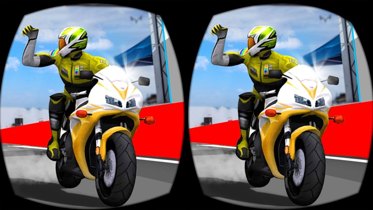 VR Bike Championship - Xtreme Racing Game for free screenshot-4