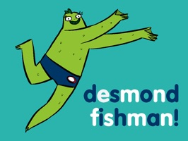 Desmond Fishman Stickers