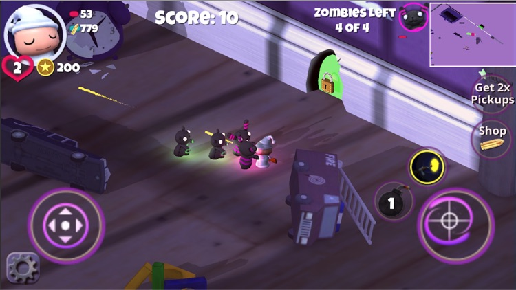 Neon Dream Z-z-z Zombie shooter