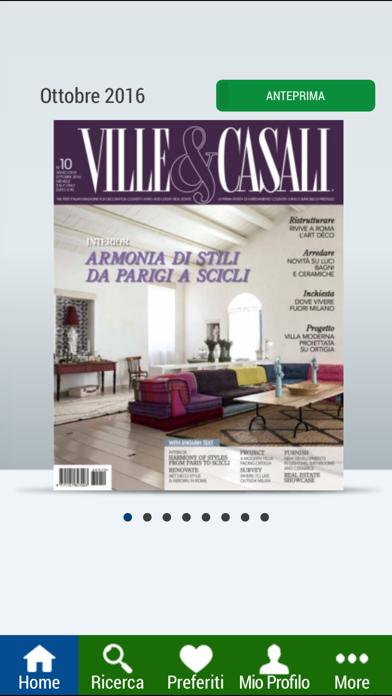 Ville&Casali Edicola Digitale screenshot one
