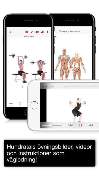 Screenshot for Full Fitness: Din personliga tränare in Sweden App Store