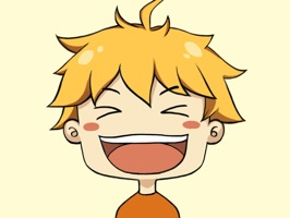 Hiroki stickers ~ the boy with golden hair