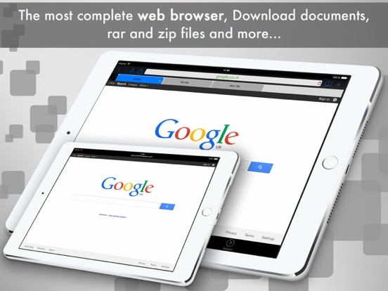 Screenshot #1 for eDl HD Free - Web Browser and File Manager