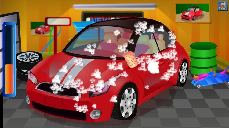 Simulation of car maintenance