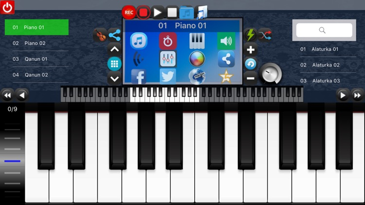 Portable ORG : Oriental Keyboard PRO screenshot-0