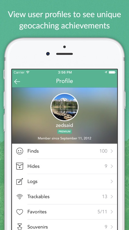 Cachly - Simple and powerful Geocaching for iPhone app image