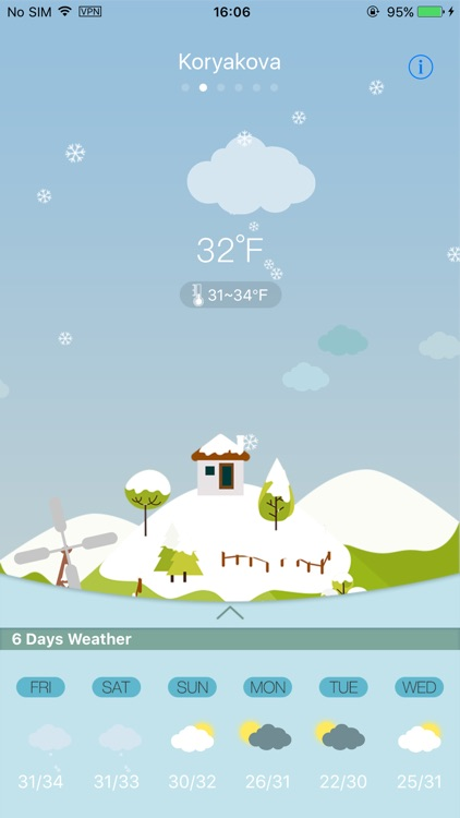 Weather HD for weather forecast, world city screenshot-0