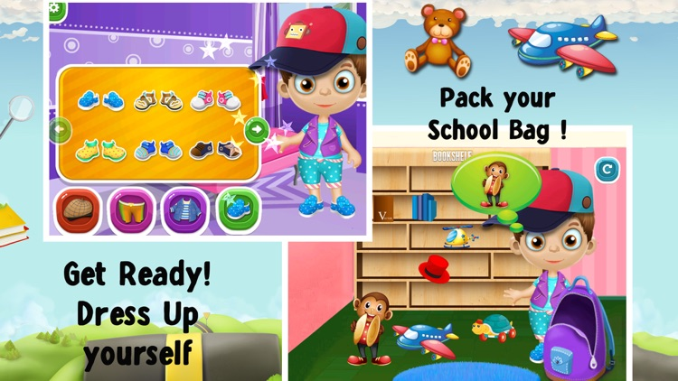 Welcome Back To School Game For Kids & Toddlers screenshot-4