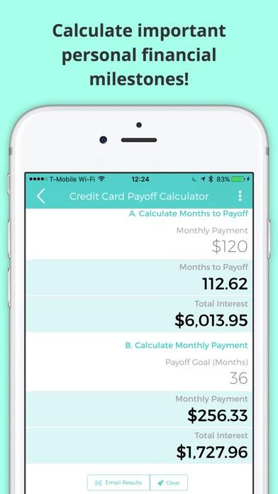 financial calculator margin amortization lease iphoneアプリ